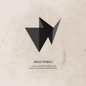 Grafisk designet visuel identitet som spiller på en række moderne virkemidler.